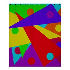 Colorful Abstract Design Shower Curtain 60  X 72  (medium)  by Valentinaart