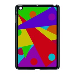 Colorful Abstract Design Apple Ipad Mini Case (black) by Valentinaart