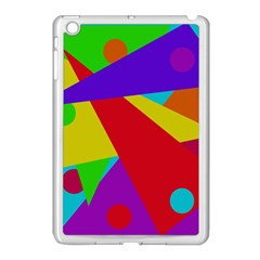 Colorful Abstract Design Apple Ipad Mini Case (white) by Valentinaart