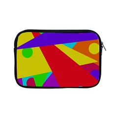 Colorful Abstract Design Apple Ipad Mini Zipper Cases by Valentinaart