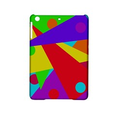 Colorful Abstract Design Ipad Mini 2 Hardshell Cases by Valentinaart