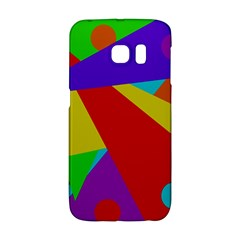 Colorful Abstract Design Galaxy S6 Edge by Valentinaart