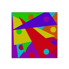 Colorful Abstract Design Satin Bandana Scarf by Valentinaart