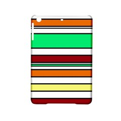 Green, orange and yellow lines iPad Mini 2 Hardshell Cases by Valentinaart