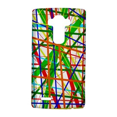 Colorful Lines Lg G4 Hardshell Case by Valentinaart