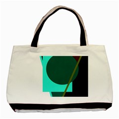Geometric abstract design Basic Tote Bag (Two Sides)
