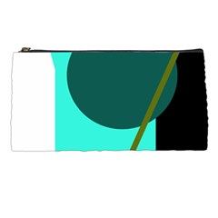 Geometric Abstract Design Pencil Cases by Valentinaart