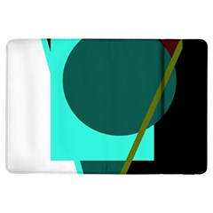 Geometric Abstract Design Ipad Air Flip by Valentinaart