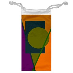 Geometric Abstraction Jewelry Bags by Valentinaart