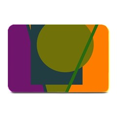 Geometric Abstraction Plate Mats by Valentinaart