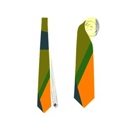 Geometric Abstraction Neckties (two Side)  by Valentinaart