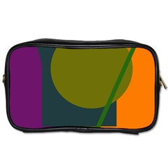 Geometric Abstraction Toiletries Bags by Valentinaart