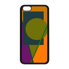 Geometric Abstraction Apple Iphone 5c Seamless Case (black) by Valentinaart