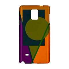 Geometric abstraction Samsung Galaxy Note 4 Hardshell Case