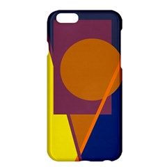 Geometric Abstract Desing Apple Iphone 6 Plus/6s Plus Hardshell Case by Valentinaart