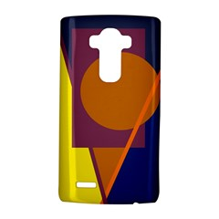 Geometric abstract desing LG G4 Hardshell Case by Valentinaart