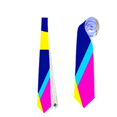 Colorful Geometric Design Neckties (two Side)  by Valentinaart