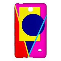 Colorful geometric design Samsung Galaxy Tab 4 (7 ) Hardshell Case