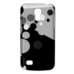 Gray Decorative Dots Galaxy S4 Mini by Valentinaart