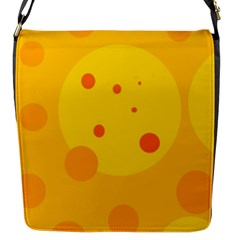 Abstract Sun Flap Messenger Bag (s) by Valentinaart