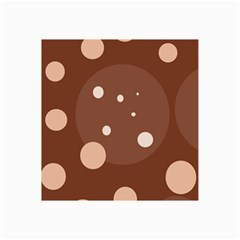 Brown Abstract Design Collage Prints by Valentinaart