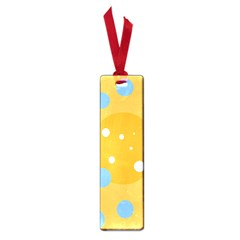 Blue And Yellow Moon Small Book Marks by Valentinaart