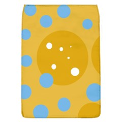 Blue And Yellow Moon Flap Covers (l)  by Valentinaart