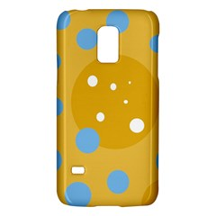 Blue And Yellow Moon Galaxy S5 Mini by Valentinaart