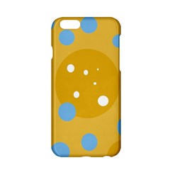Blue And Yellow Moon Apple Iphone 6/6s Hardshell Case by Valentinaart