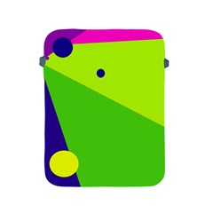 Colorful Abstract Design Apple Ipad 2/3/4 Protective Soft Cases by Valentinaart