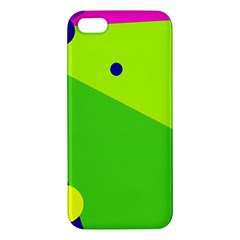 Colorful Abstract Design Iphone 5s/ Se Premium Hardshell Case by Valentinaart