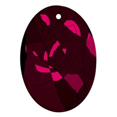Abstract Design Ornament (oval)  by Valentinaart