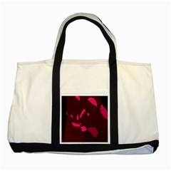 Abstract Design Two Tone Tote Bag by Valentinaart