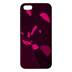 Abstract Design Iphone 5s/ Se Premium Hardshell Case by Valentinaart