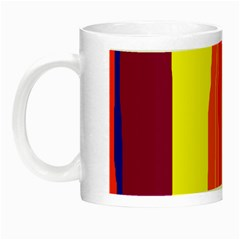 Hot Colorful Lines Night Luminous Mugs by Valentinaart