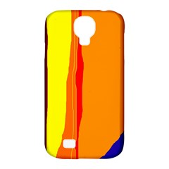 Hot Colorful Lines Samsung Galaxy S4 Classic Hardshell Case (pc+silicone) by Valentinaart