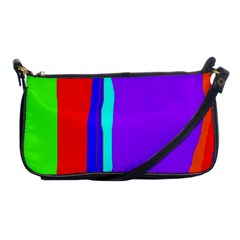 Colorful Decorative Lines Shoulder Clutch Bags by Valentinaart