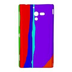 Colorful decorative lines Sony Xperia ZL (L35H)