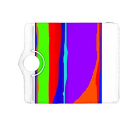 Colorful Decorative Lines Kindle Fire Hdx 8 9  Flip 360 Case by Valentinaart