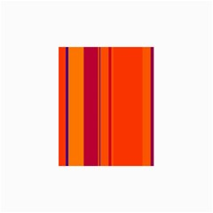 Orange Lines Collage Prints by Valentinaart