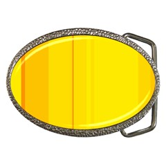 Yellow Lines Belt Buckles by Valentinaart