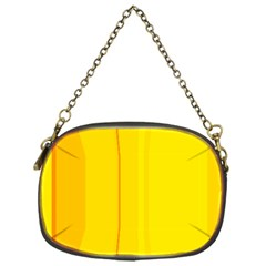 Yellow Lines Chain Purses (one Side)  by Valentinaart