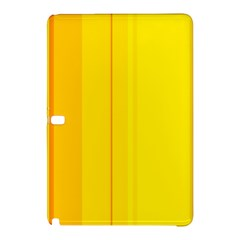 Yellow Lines Samsung Galaxy Tab Pro 12 2 Hardshell Case by Valentinaart
