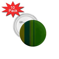Green Elegant Lines 1 75  Buttons (10 Pack) by Valentinaart