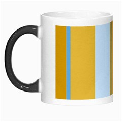 Yellow Elegant Lines Morph Mugs by Valentinaart