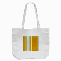 Yellow Elegant Lines Tote Bag (white) by Valentinaart