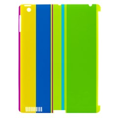 Colorful Lines Apple Ipad 3/4 Hardshell Case (compatible With Smart Cover) by Valentinaart