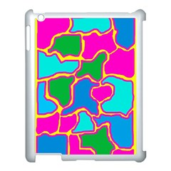Colorful Abstract Design Apple Ipad 3/4 Case (white) by Valentinaart