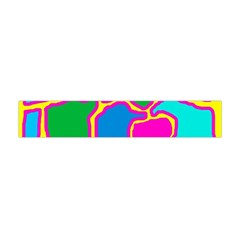 Colorful Abstract Design Flano Scarf (mini) by Valentinaart