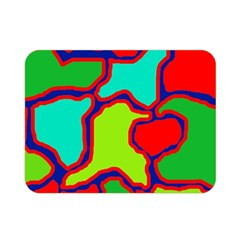 Colorful Abstract Design Double Sided Flano Blanket (mini)  by Valentinaart